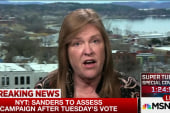 Jane Sanders: We aren't getting out