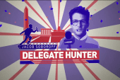 Delegate Hunter tackles Northeast primaries