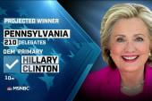 NBC: Hillary Clinton wins PA primary