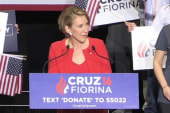 Fiorina breaks into song on the stump
