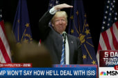 On ISIS, Trump not providing many details