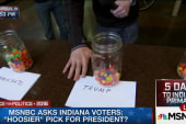 Who do Indiana voters align with?