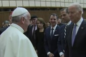 Biden met with Pope Francis