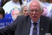 Sanders cites progressive vision for Dem....