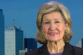 Sen. Hutchison calls Trump's woman card...
