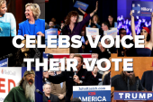Celebs voice their vote