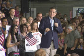 Cruz: Trump looking strong on primary night