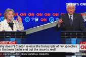 Clinton on transcripts: Set the same standard