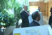 Donald Trump votes in NY primary