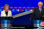 Clinton and Sanders argue who's tougher on...