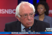 Watch Clinton, Sanders town hall highlights