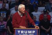 Knight endorses Trump at Indianapolis rally