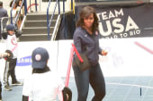 Michelle Obama celebrates 100 days to Rio
