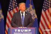 Trump: 'Being presidential is easy'