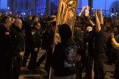 Anti-Trump protesters converge in Buffalo