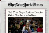 Despite odds, Cruz continues in Indiana
