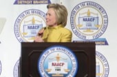 Hillary Clinton pivots to general election...