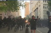 Seattle 'May Day' protests erupt in violence