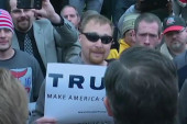 Cruz confronts Trump supporters in Indiana