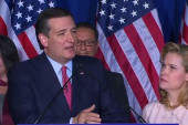 Cruz addresses voters on primary night