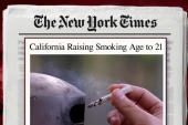 State raises legal smoking age to 21