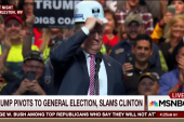 Trump pivots to the general election,...