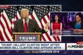 Trump: Hillary Clinton was a nasty enabler