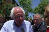 Sanders not nervous about 'uphill fight'