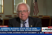 Sanders: Don't moan to me about Clinton's...