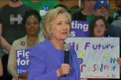 Clinton battles personal image problems