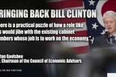 Bill Clinton in the White House?