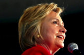 Can Clinton channel an 'uplifting' message?