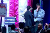 What happened at the Dem Nevada Convention