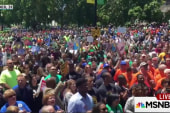 Pro-union rally draws thousands in Illinois