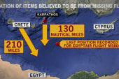Strong suggestion of EgyptAir explosion