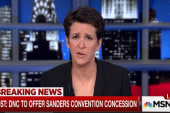 DNC to offer Sanders platform input: WashPost