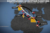 All wreckage to be brought to Egypt for...