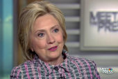 Clinton attacks Trump over tax returns