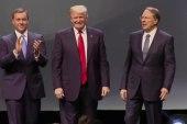 Clinton slams Trump over tax returns
