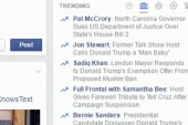 Facebook making changes to 'trending topics'