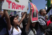 Protesters Descend On Trump Rally In San...