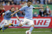 Spanish soccer star takes on NYCFC