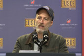 Jon Stewart celebrates USO anniversary
