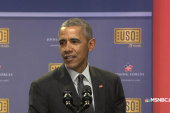 Pres. Obama celebrates USO anniversary