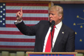 Trump: Clinton was 'screaming' at...