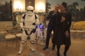 Obama's get funky with Stormtroopers for...