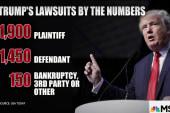 Spotlight shines on Trump's court battles