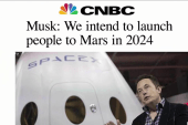 Elon Musk will launch Mars mission in 2024