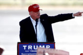 How can Trump grow as a candidate?