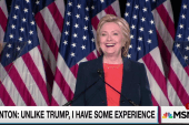 Clinton clobbers Trump with his own words